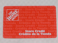 Home Depot Store Credit for sale $34.01 off total amount $269.01