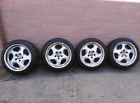 """BMW 17"""" Wheels With michelin pilot sport a/s 3 255/40/17"""