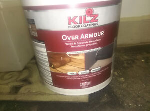 paint for outside deck brand new.