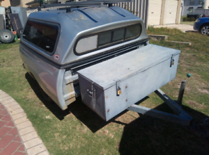 Tradie/Camp trailer. St Helens Park Campbelltown Area Preview