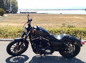 2015 Harley Sportster Iron 883 Matte Black