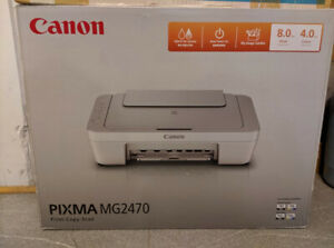 Canon Pixma MG2470 - All in one Inkjet Printer - Print Copy Scan