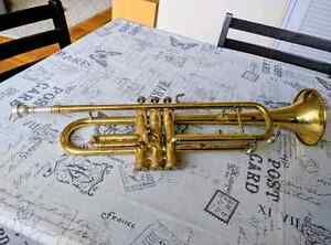Trumpet and mouthpiece for sale