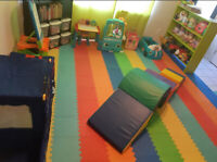 Mon/Wed/Fri Childcare available