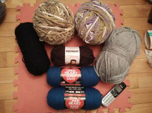 YARNS LOT for sale - $25 per lot or take all 6 lots for $140