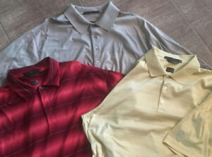 ***BRAND NEW*** TIGER WOODS NIKE GOLF SHIRT PACKAGE (LOT OF 3)
