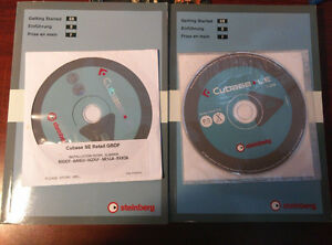 New Steinberg Cubase SE &LE Music Creation &Prod CD,3Manual,2006