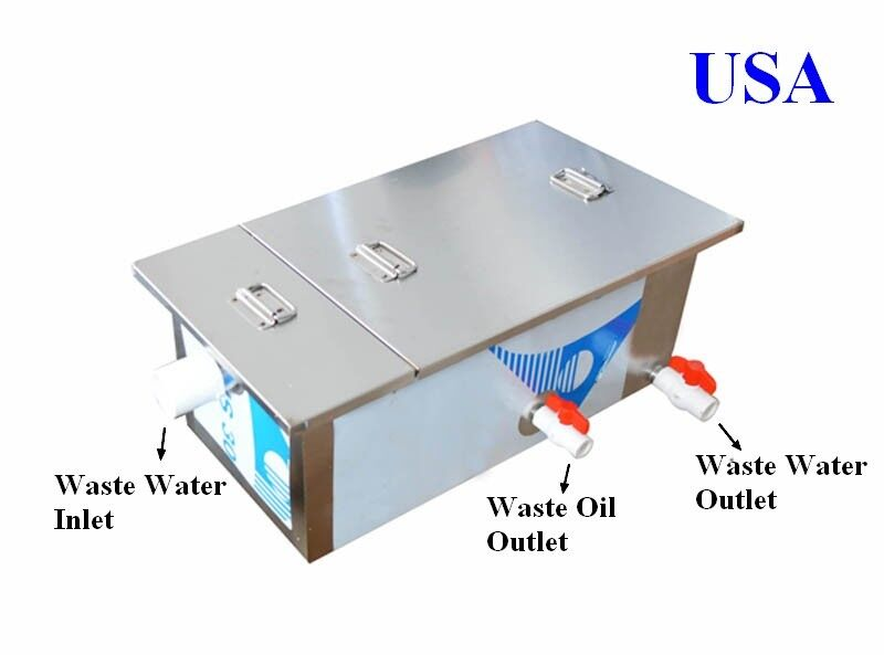 NEW 0.5T Commercial Grease Trap Kitchen Waste Filter