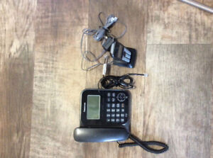 Land phone with one cordless  phone