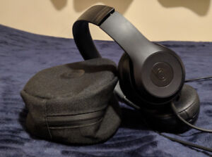 Beats Solo 3 ~ Matte Black ~ Wireless+Wired Bluetooth Headphones