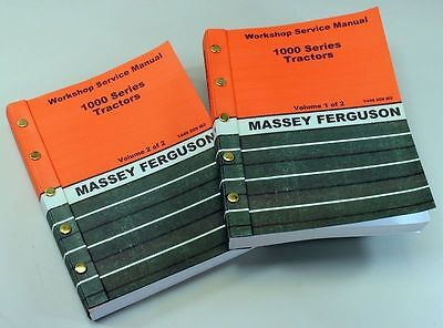 Massey Ferguson 1030 1035 Tractor Service Repair Shop Manual Technical Workshop