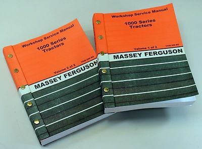 Massey Ferguson Mf1010 Mf1020 Mf1030 Tractor Service Repair Shop Manual Workshop
