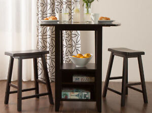 JYSK Bar Table and Stools Dining Set