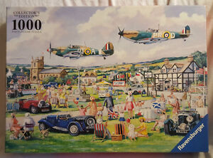 REMEMBRANCE DAY FLYPAST PUZZLE BY RAVENSBURGER COLLECTORS RARE