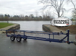 Pontoon Trailer RENTAL - Scissor-Lift up to 24 feet + 3500 lbs