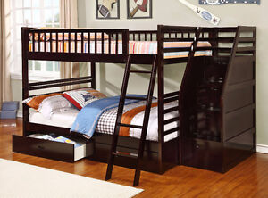 NEW!  Full over Full Bunk Bed w/ Storage Drawers!  FREE Delivery Comox / Courtenay / Cumberland Comox Valley Area image 4