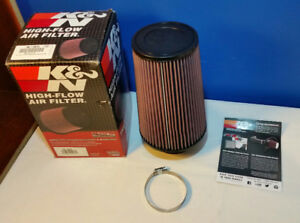 Round Rubber Tapered Universal K&N Air Filter RE-0810