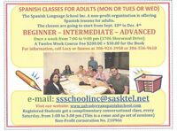 SPANISH CLASSES FOR ADULTS & CHILDREN