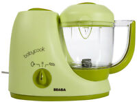 BEABA BABYCOOK- quickly make fresh healthy food for your baby!