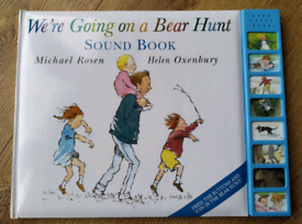 We're Going on a Bear Hunt, Sound Book.