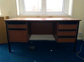 Dark Brown office desk