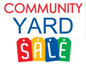 Indoor Community Yard Sale