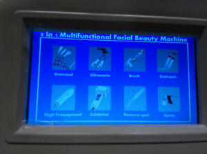 New 9in1 multi functional High-Frequency, Galvanic,Spot Removal