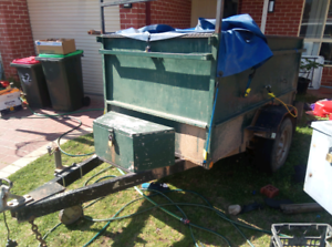 Box trailer 7x4 1m high sides St Helens Park Campbelltown Area Preview