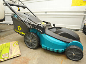 Electric lawnmower & power cord (30m)