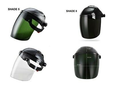 Grinding Face Shield - OTOS Safety Face Shield Clear Grinding Solder Mask Glasses Welding Helmet