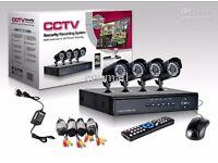 4 camera CCTV Kit