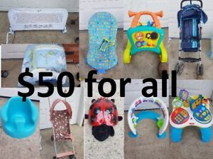 Baby Items- See ad and picture for details