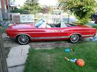 1967 Ford Galaxie convertible 500XL running driving