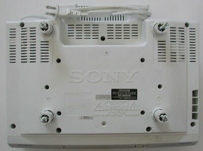 Sony ICF-CD513 Under Cabinet CD Player/ AM FM Clock Radio With Mega Bass & Alarm