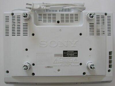 Sony ICF-CD513 Under Cabinet CD Player/ AM FM Clock Radio With Mega Bass & Alarm