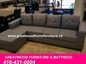 CONDO SIZE SECTIONAL..$499..BRAND NEW..CHOICE OF COLOR