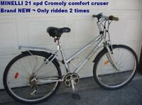 ★ Minelli Hybrid Diablo Cromoly Comfort Cruiser Cond. A-1 NEW★