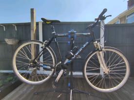 Viking urban bike with front suspension