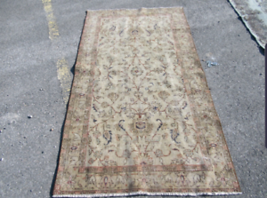 Vintage Turkish Handmade oushak rug Lidcombe Auburn Area Preview