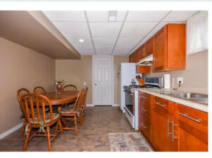 Welcome to a 2-bedroom duplex/basement apartment plus storage
