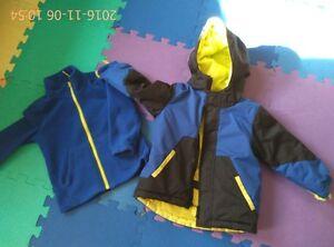 3 in 1 winter coat for boy -- size 3T