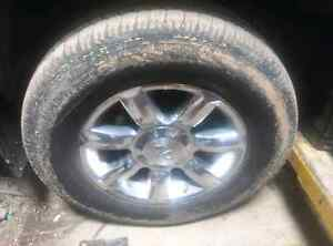 Infiniti Q56 rims and tires Edmonton Edmonton Area image 2