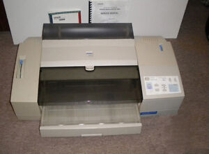 Lot of 3 Epson Stylus Color 3000 Printers, network cards and ink