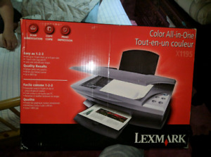 Lexmark X1195 Printer - BRAND NEW All In One Printer and Scanner