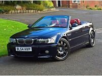 2005 54 BMW M3 3.2 CONVERTIBLE MANUAL 2 DOOR STUNNING EXAMPLE
