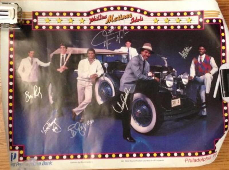 Phillies Matinee Idols 1980