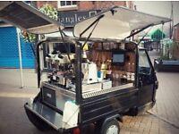 Coffee Van - Piaggio Ape 50