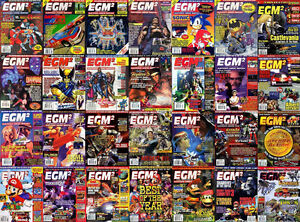Video Game Magazines, EGM Buyers Guides, EGM2, Gamepro