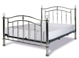 Limelight Lyra metal frame Double Bed