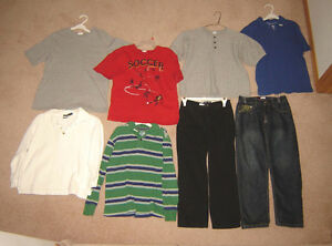Boys Clothes, Jackets - sz 7/8, 8, 10, 12 / Footwear sz 5, 6, 7,